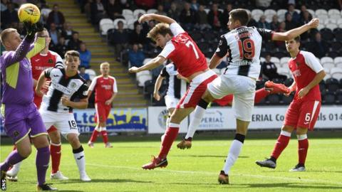 Ross Stewart scores for St Mirren