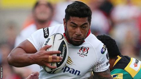 Full-back Charles Piutau has missed Ulster's last two matches