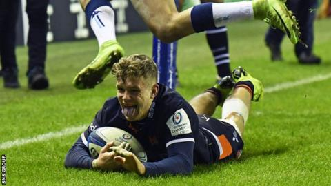 Darcy Graham scored the decisive try in the second half
