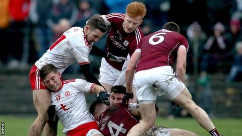 Tempers flared in the Tuam contest on a number of occasions