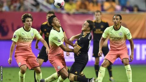 Asia Trophy: Wolves beat Man City in bizarre penalty shootout