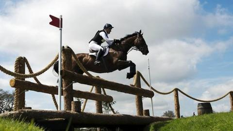 Badminton Horse Trials Coverage On The Bbc Oliver Townend