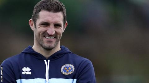 New Shrewsbury Town manager Sam Ricketts