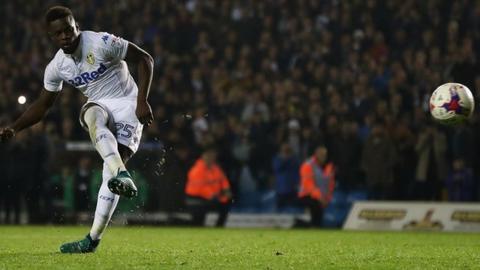 Leeds v Norwich: Ronaldo Vieira scores winning penalty