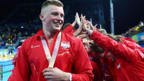 Britain's Adam Peaty