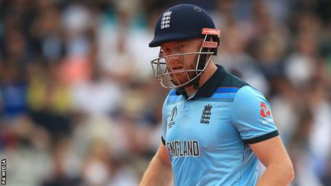 Jonny Bairstow after being dismissed against Australia