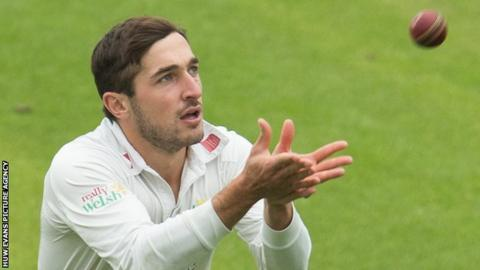 Glamorgan's Andrew Salter returned impressive bowling figures of 3-6