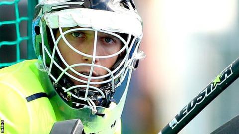 Ireland goalkeeper David Harte