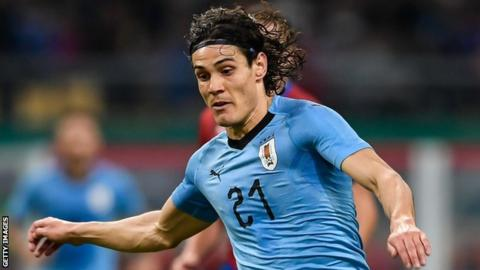 Edinson Cavani denies Wales in China Cup final