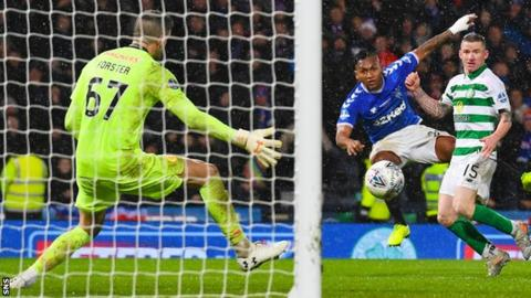 Rangers 0-1 Celtic: Houdinis in Hoops prolong Alfredo Morelos' Old Firm torment