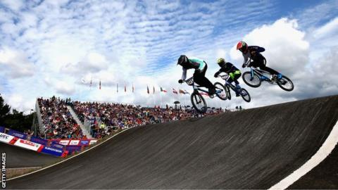BMX at the European Championships