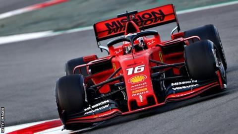 F1 Testing The Best Looking 2019 F1 Car Bbc Sport