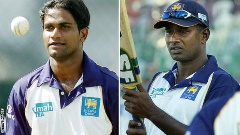 Former Sri Lanka Cricketers Nuwan Zoysa And Avishka