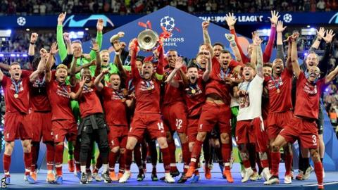 Liverpool beat Tottenham 2-0 to win the 2019 Champions League final