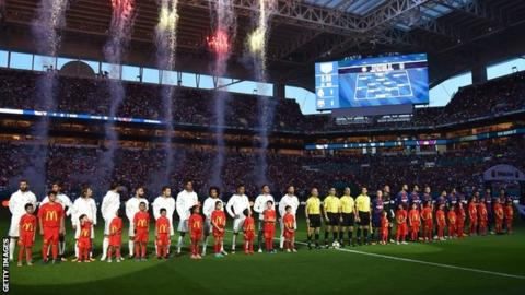 Barcelona against Real Madrid in Miami