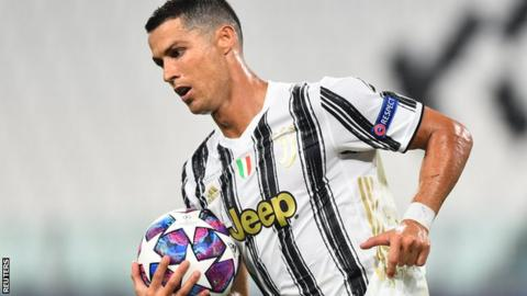 Cristiano Ronaldo scores twice but Lyon knock Juventus out