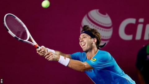 Fognini topples Del Potro to win ATP Los Cabos Open
