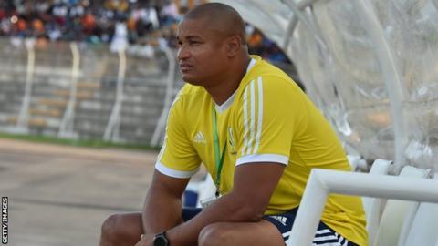 Former Gabon forward Daniel Cousin