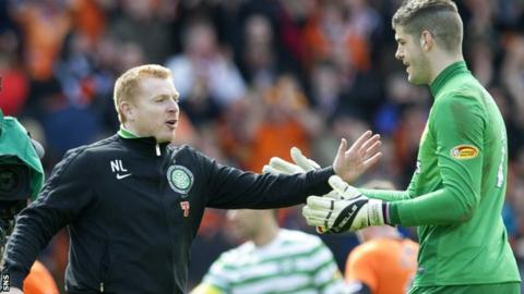 Manager Neil Lennon has brought Fraser Forster back to Celtic on loan for the rest of the season