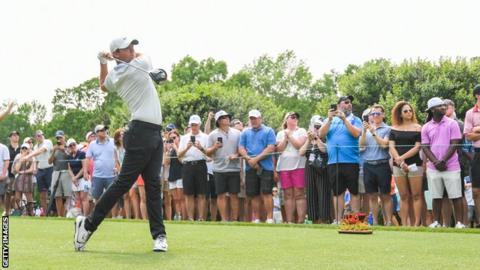 Wells Fargo Championship: Rory McIlroy two off lead going into final
