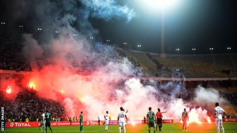 Zamalek and Al Ahly Tripoli in the African Champions League