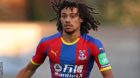 Nya Kirby in action for Crystal Palace