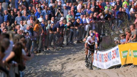 WvA rider Wout van Aert, of Belgium,
