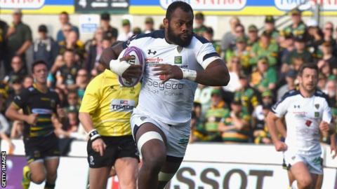 Peceli Yato scored two tries for Clermont Auvergne, who were Champions Cup runners-up in 2017.