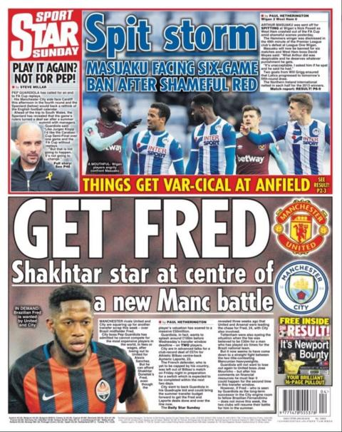 Sunday's Star on Sunday