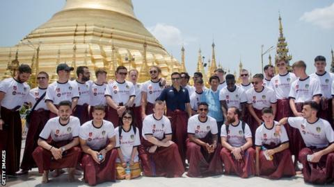 Leeds in Myanmar