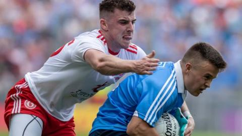 McAliskey played for Tyrone in their All-Ireland SFC final defeat by Dublin