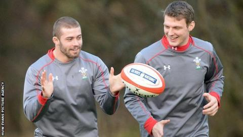 Leigh Halfpenny and Dan Biggar