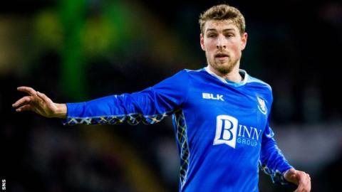 St Johnstone midfielder David Wotherspoon
