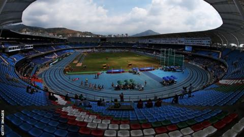 The Pascual Guerrero Olympic Stadium in Cali, Colombia
