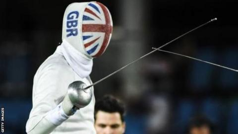 Piers Gilliver won silver in the men's individual Epee A division at the Rio Paralympics
