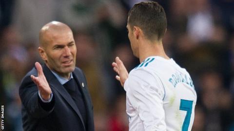 Ronaldo teaches a lesson to Neymar and Mbappe (cartoon)