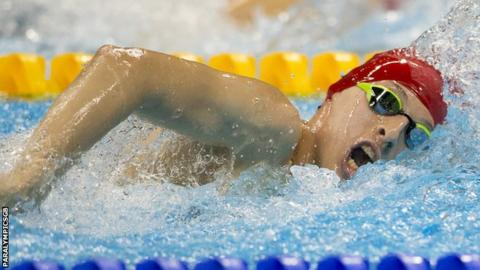 Paralympic swimming champion Mikey Jones