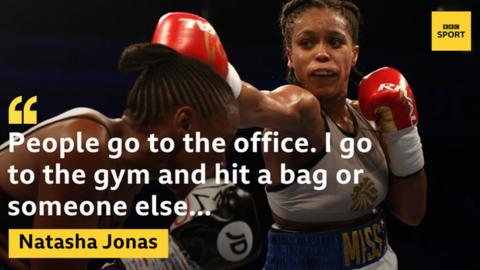Jonas balances professional boxing with being a mum