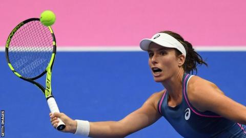 Johanna Konta British Number One Hopes To Be Better Equipped