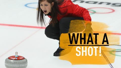 Muirhead shot GB curling