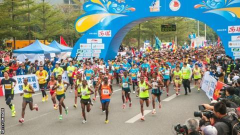 Shenzhen half marathon