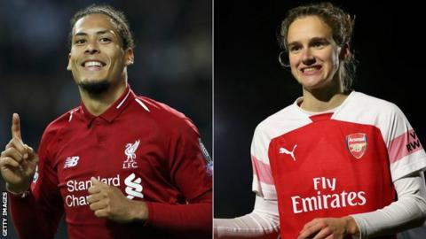 Van Dijk and Miedema named PFA Players of the year