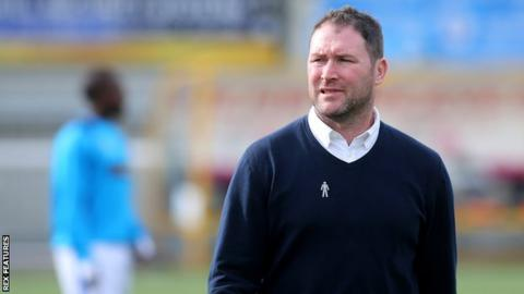 Lee Bradbury led Havant & Waterlooville to successive promotions from the Isthmian League into the National League in 2017 and 2018