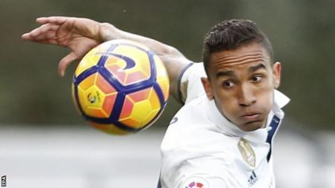 Real Madrid's Danilo