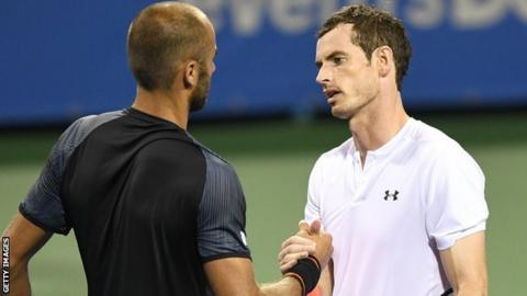 Andy Murray may withdraw from Citi Open quarter-final after 3am finish