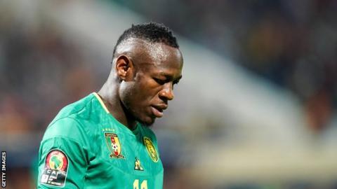 Cameroon forward Christian Bassogog