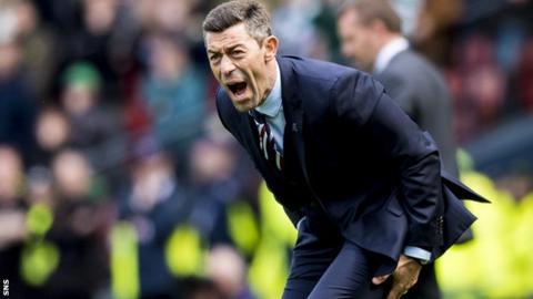 Rangers manager Pedro Caixinha