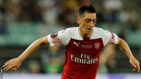Transfer: Fenerbahce release statement on signing Ozil from Arsenal
