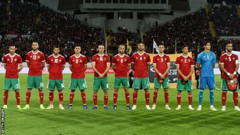 The Morocco national football team