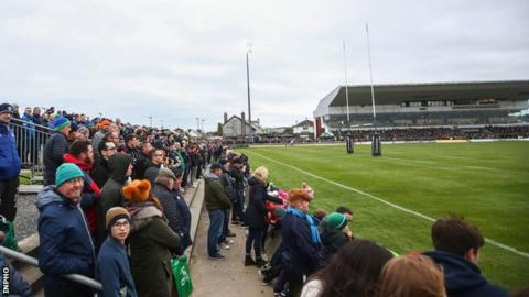 Galway Sportsground, home of Connacht Rugby